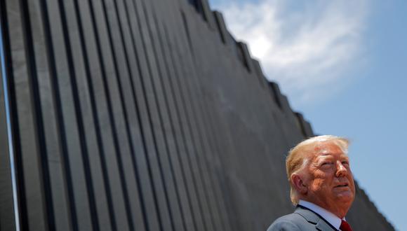 La promesa de construir el muro fronterizo con México fue el principal gancho de Trump con su base electoral. REUTERS/Carlos Barria/File Photo