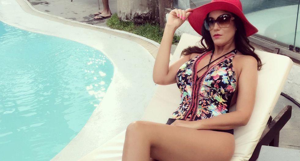 La modelo Tilsa Lozano es mamá de dos pequeños junto a Miguel Hidalgo. (Foto: Instagram)
