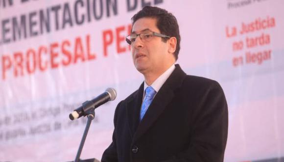 """""""Una vez derogada [la norma] entrar al terreno de hacer una ley transparente para el uso de los fondos públicos en materia de publicidad estatal"""", dijo Salvador Heresi. (Foto: Minjus)."""