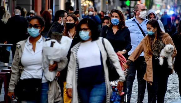 Coronavirus en Italia | Últimas noticias | Último minuto: reporte de infectados y muertos hoy, miércoles 7 de octubre del 2020 | Covid-19 | (Foto: EFE/EPA/CIRO FUSCO).