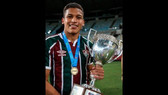 Fernando Pacheco se coronó campeón de la Taça Rio con Fluminense | Foto: @fernandorivas_99