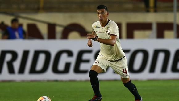 Federico Alonso marcó 3 goles con Universitario en el 2020: dos en la Liga 1 y una en la Copa Libertadores. (Foto: GEC)