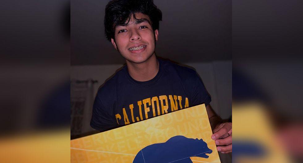 Foto 1 de 3 | Gerson Navidad difundió en sus redes sociales la gran noticia: tras 3 años de haber llegado a USA consiguió una beca completa en la Universidad de Berkeley. | | Foto: gerson_a.navidad/Instagram. (Desliza hacia la izquierda para ver más fotos).