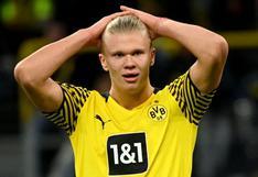 """Erling Haaland en duda para el partido de Dortmund en Champions League: """"Todavía tiene dolor"""""""