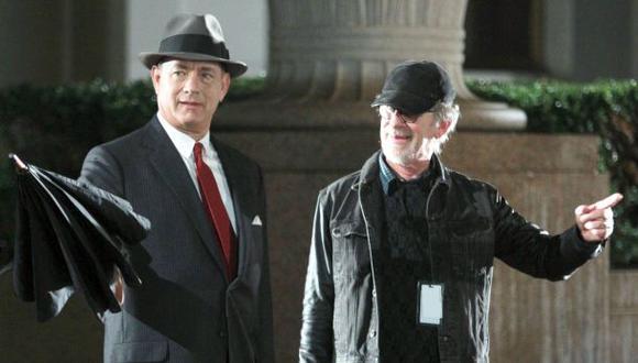 Steven Spielberg rueda en Berlín su nueva película sobre espías