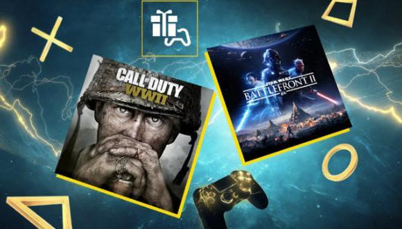 """""""Call of Duty World War II"""" y """"Star Wars Battlefront II"""" son los juegos gratis de junio en PS Plus (Foto: PlayStation)"""