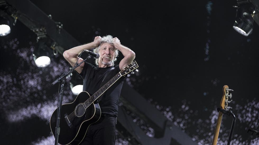 Roger Waters en Lima. (Foto: Gabriela Delgado)