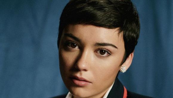 "Carla Díaz interpreta a Ari Blanco Commerford en la cuarta temporada de ""Élite"" (Foto: Netflix)"