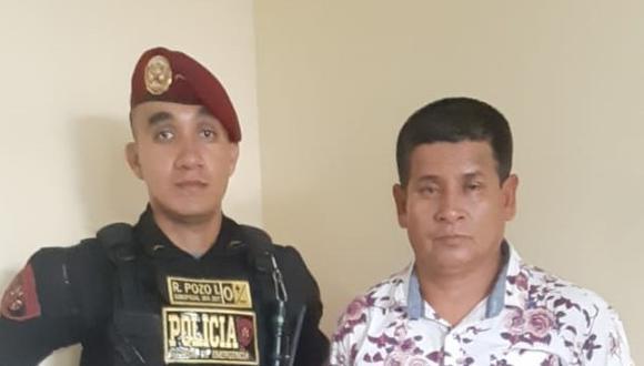 Loreto. Cae temible delincuente trujillano en la ciudad de Iquitos. (PNP)