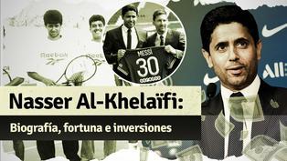 Nasser Al-Khelaifi, el extenista que se convirtió en presidente del PSG y logró el pase del siglo