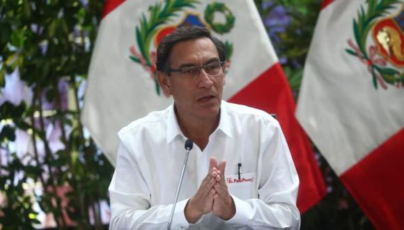 El presidente de la República, Martín Vizcarra, no ofrecerá este domingo 12 de abril una conferencia de prensa en el vigésimo octavo día del estado de emergencia. (Foto: GEC)
