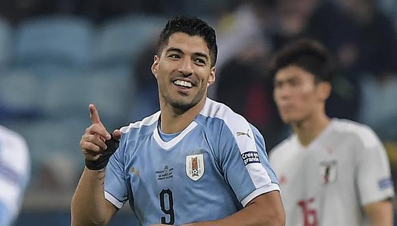 Luis Suárez comandará el ataque de Uruguay / AFP / Carl DE SOUZA