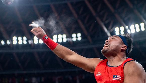 Muhammad Ziyad Zolkefli en los Juegos Paralímpicos Tokio 2020. (Foto: AFP)