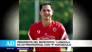 "Presidente del Benevento sobre Lapadula:  ""Es un profesional con P mayúscula"""