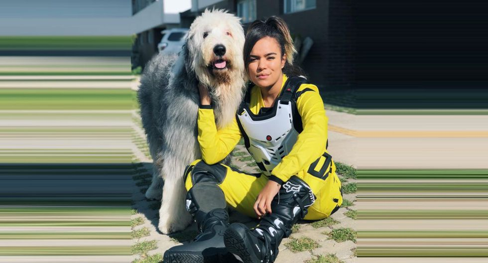 Karol G se mostró emocionada de reencontrarse con su perro Otto luego de seis meses. (Foto: @karolg)