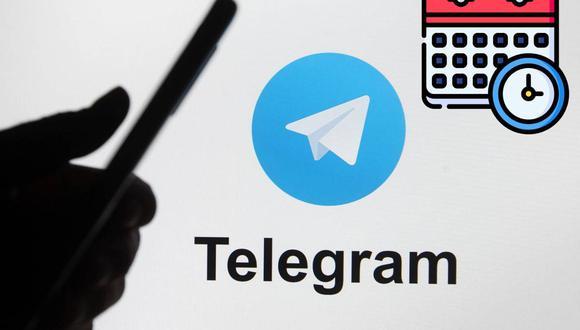 No dejes pasar fechas especiales y pasar malos momentos, programa tus mensajes desde Telegram con este truco (Foto: Reuters)