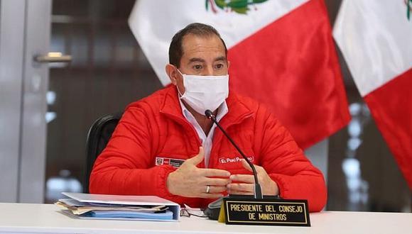 Martos señaló que la propuesta de la FPF es que el Estadio Nacional funcione con el 13% de aforo de público para el partido Perú vs. Argentina. (Foto: PCM)