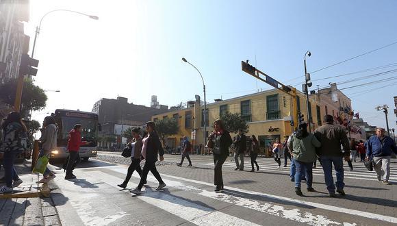 En Lima Oeste, la temperatura máxima llegaría a 19°C, mientras que la mínima sería de 16°C. (Foto: GEC)