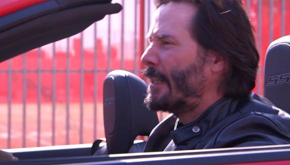 Keanu Reeves en divertida parodia de Jimmy Kimmel Live. (Foto: ABC)