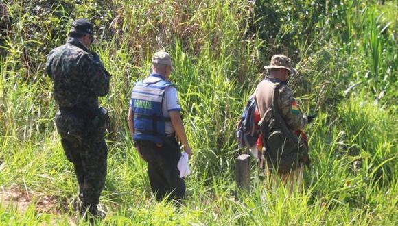 Perú y Bolivia se unieron en operación contra minería ilegal