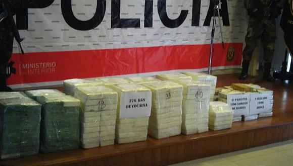 Vraem: incautan 102 kilos de droga que eran trasladados en auto