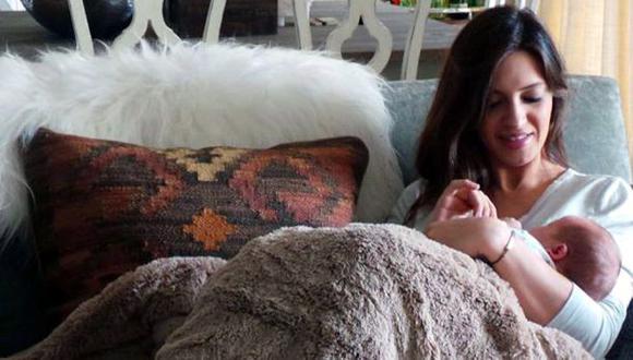 Sara Carbonero compartió primera foto junto a su hijo Martín