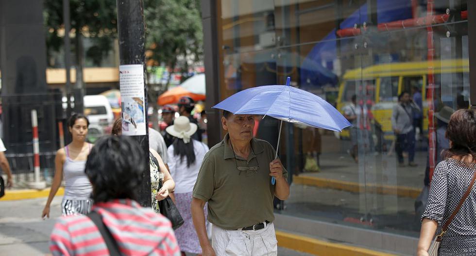 El Senamhi pronosticó que el índice máximo UV en Lima alcanzará el nivel 15 este miércoles. (Foto: GEC)