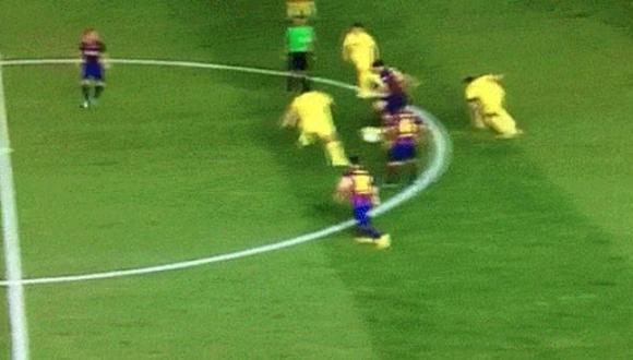 Sergio Busquets regaló gran jugada en victoria del Barcelona