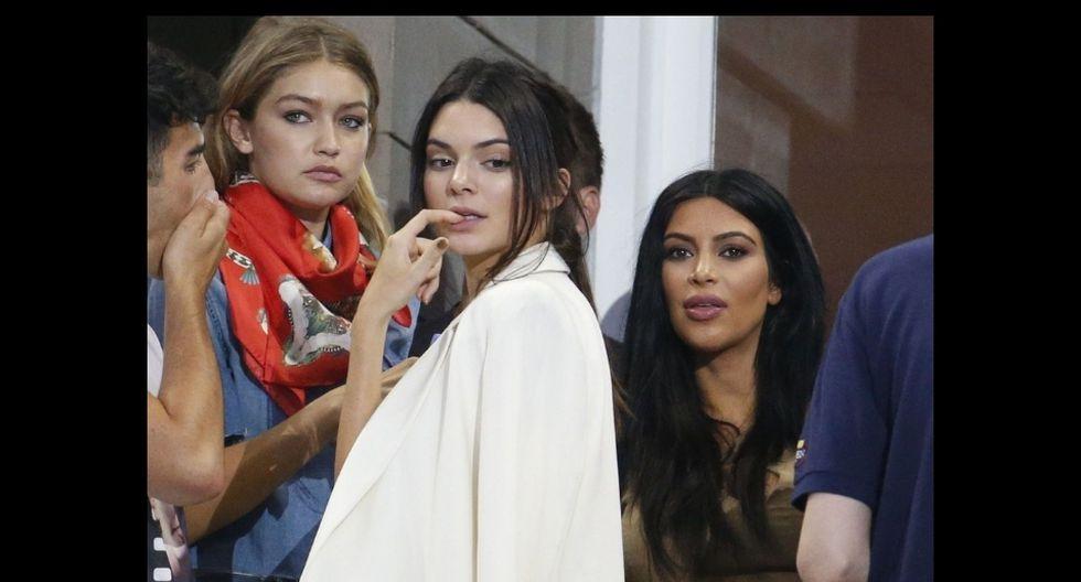 La modelo Kendall Jenner comúnmente es seguida por paparazis. (AP)