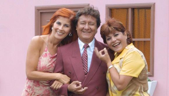 """Olga Zumarán, Adolfo Chuiman y Aurora Aranda fueron parte de """"Mil oficios"""" en los primeros años del nuevo milenio (Foto: Panamericana Televisión)"""