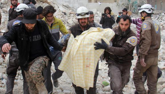 Donald Trump pide a Rusia, Siria e Irán detener matanza de civiles en Idlib. Foto: AFP