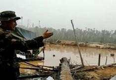 Madre de Dios: incautaron bienes empleados en la minería ilegal en la Reserva Nacional de Tambopata | VIDEO