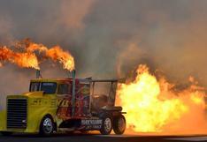 Slockwave: el camión más rápido del mundo alcanza los 600 km/h   FOTOS