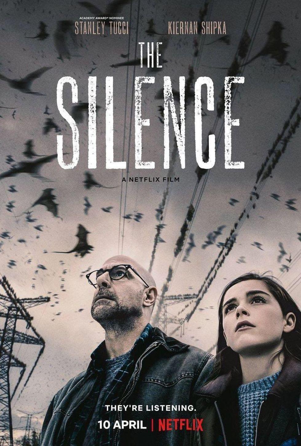 """Afiche oficial de """"El Silencio"""". (Foto: Netflix)"""