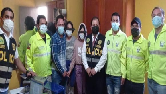 Los padres de Sara y Sofía denunciaron el 22 de abril la desaparición de las menores en Ecuador. Ambas fueron halladas en el Perú. (Foto: Policía Nacional del Perú).