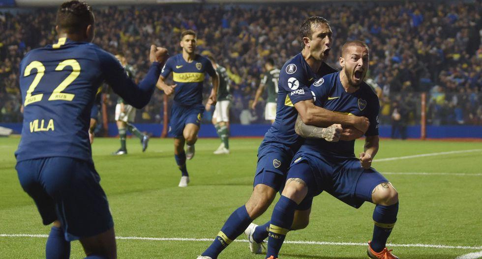 Boca Juniors busca volver a una final de Copa Libertadores. Primero deberá dejar en el camino a Palmeiras, equipo al que aventaja por dos goles. (Foto: AP)