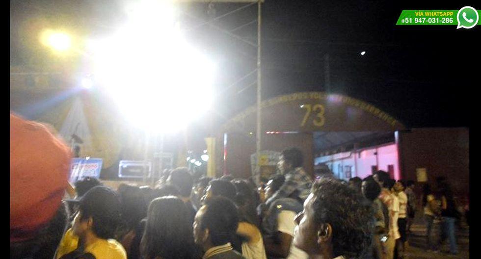 WhatsApp: evento en Barranca obstruye estación de bomberos  - 11