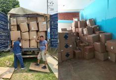 COVID-19 : Amazonas recibe 1,438 kilos de medicamentos y equipos de protección