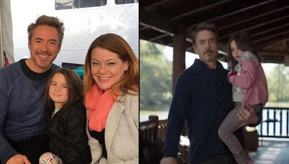Lexi Rabe interpretó a Morgan Stark, hija de Tony Stark, en la cinta de Marvel. (Foto: Jessica Rabe / Marvel)