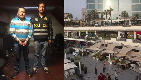 La detención del ex dirigente se realizó cuando se encontraba en el patio de comidas. (Foto: Difusión / El Comercio)