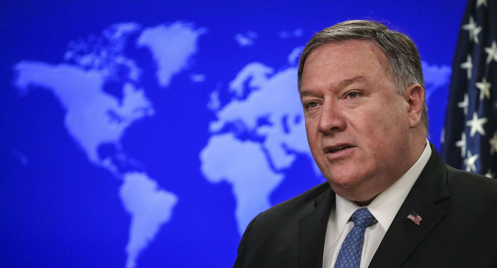 """Venezuela: Mike Pompeo dice que es posible acción militar de Estados Unidos contra Nicolás Maduro """"si se requiere"""". (AFP)."""