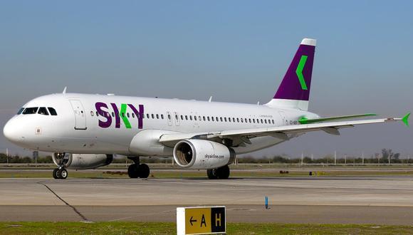 Sky Airline llegará como 'Sky Perú'.