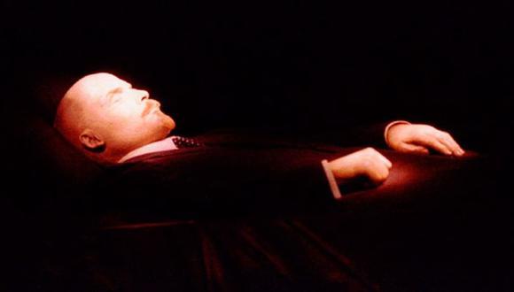 El cuerpo del líder ruso Vladimir Lenin fue embalsamado. (Foto: Reuters).