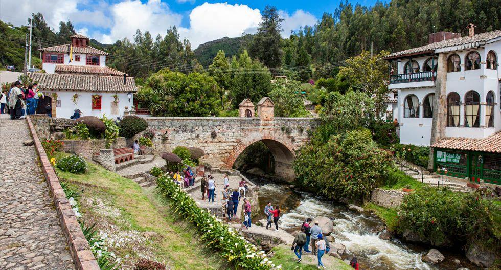 Monguí, Colombia. Las visitas imperdibles son la Basílica de Nuestra Señora de Monguí, el puente Calicanto y el páramo de Ocetá.(Foto: Shutterstock)