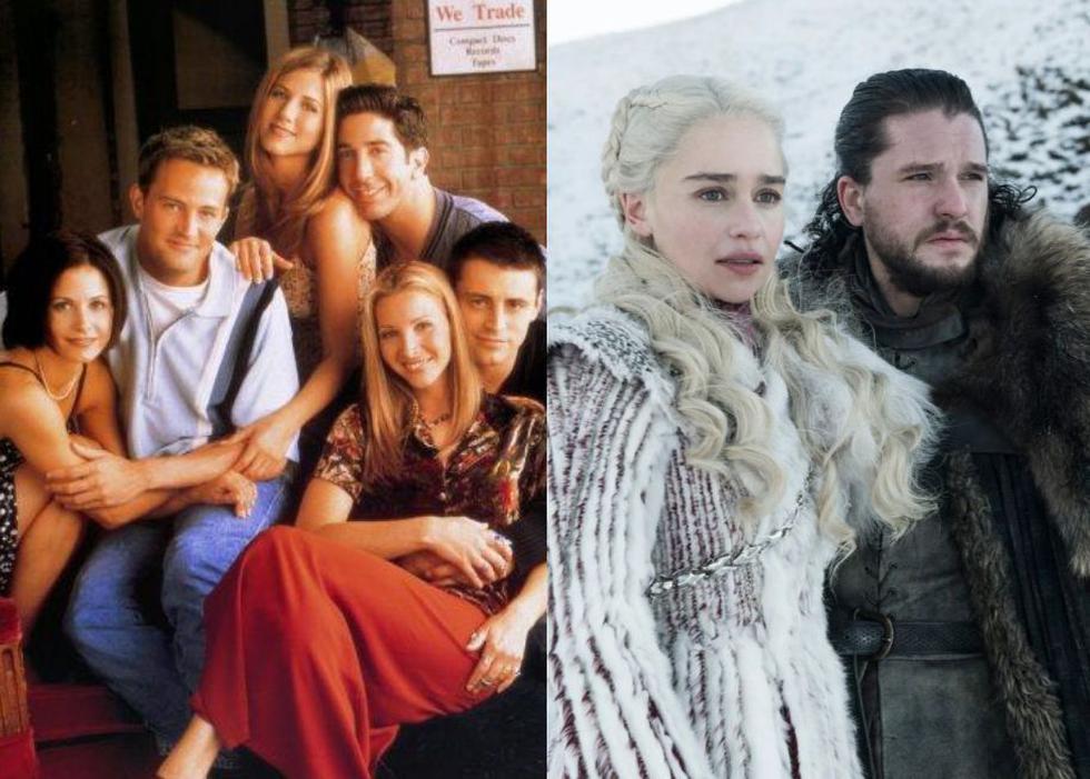 """Series como """"Friends"""" y """"Game of Thrones"""" están disponibles a través de la plataforma HBO Max, la cual estará disponible en Latinoamérica a partir de este martes 29 de junio. (Foto: NBC/HBO)"""
