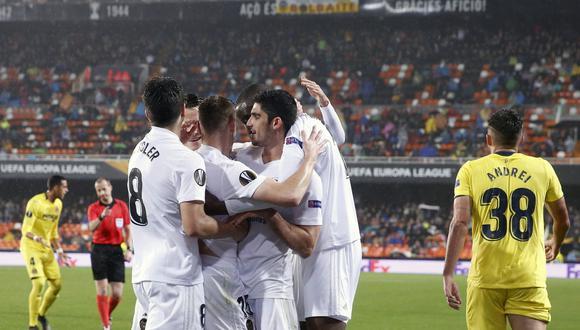 Valencia vs. Villarreal EN VIVO EN DIRECTO: juegan por el pase a las semifinales de la Europa League. (Foto: AP)