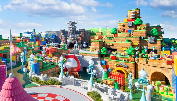 Super Nintendo World. (Imagen: Nintendo / Universal Studios)