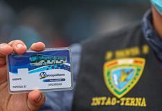 Metropolitano: entregan tarjetas de pase libre a efectivos del Grupo Terna que resguardarán estaciones frente a continuos asaltos