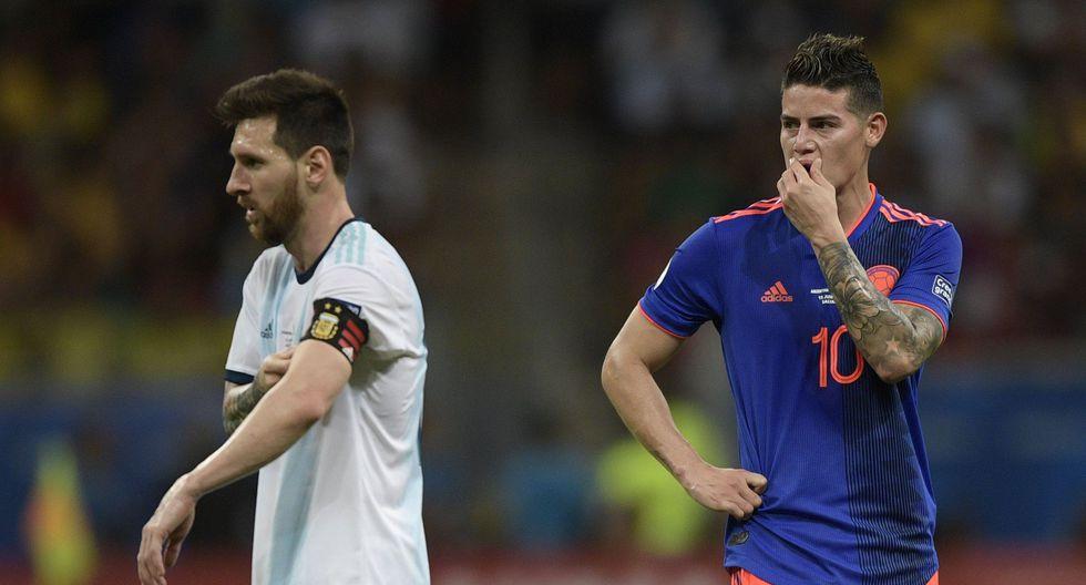 """James luego de triunfo ante Argentina: """"Nos falta mucho, pero considero que jugamos muy bien""""   VIDEO. (Foto: AFP)"""