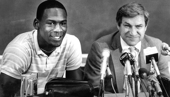 Michael Jordan fue alero de la Universidad de North Carolina| Foto: AP